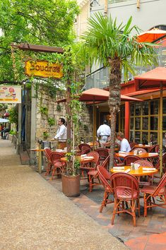Boudros - San Antonio Riverwalk ~ one of my favorite restaurants ~ love to do their dinner on the river boat.