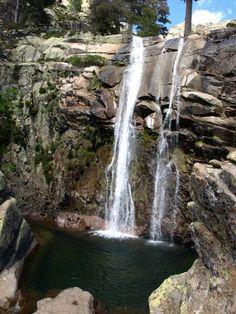 Le ruisseau de l'Agnone, Corse