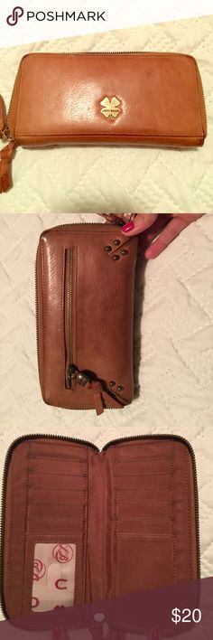 Lucky Brand Brown Leather Wallet Lucky brown leather wallet in good condition Lucky Brand Bags Wallets