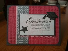 Graduation Card by gunnergirlchase - Cards and Paper Crafts at Splitcoaststampers