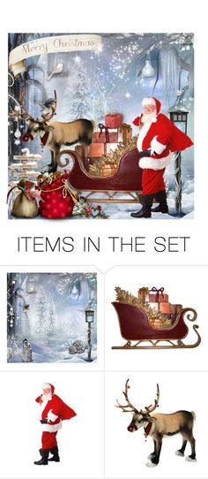 """""""Is Santa ready yet?"""" by molly2222 ❤ liked on Polyvore featuring art"""