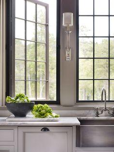 Dungan Nequette Architects Project Ferguson Residence Design Moderne Kitchen Sink Black