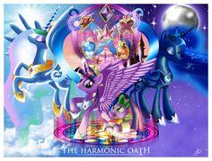Harmonic Oath - my-little-pony-friendship-is-magic Fan Art
