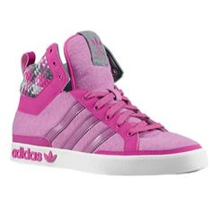 size 40 94e5b c5fcc adidas Originals Top Court Hi - Women s - Vivid Pink Iron Pink Adidas, Foot