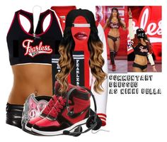 Designer Clothes, Shoes & Bags for Women Wwe Halloween Costume, Wwe Costumes, Halloween Costumes For Girls, Wrestling Outfits, Wwe Outfits, Nikki Bella Costume, Wwe Party, Surf Tattoo, Nikki And Brie Bella