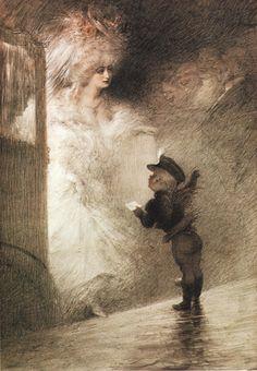 Charles Léandre : Le petit messager