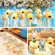 Ideas Baby Shower Ideas Winnie The Pooh Themed Parties For 2019 Winnie The Pooh Themes, Winnie The Pooh Cake, Vintage Winnie The Pooh, Winnie The Pooh Birthday, Baby 1st Birthday, Boy Birthday Parties, Birthday Ideas, Themed Parties, Birthday Sweets