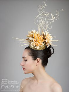 Kentucky Derby Hat  Avant Garde Hat  Asain by BoringSidney on Etsy, $95.00