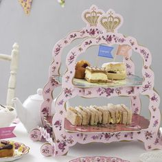 Talking Tables Truly Scrumptious Sandwich Stand - Le Petite Putti Toronto Canada