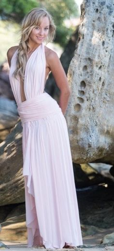 The style that suits the tall, flat chested or curvey ladies. Pink goddess flow dress that is a show piece for all those you want to impress. Flow, Suits, Formal Dresses, Lady, Pink, Collection, Style, Fashion, Formal Gowns