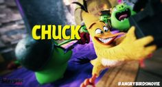 The Angry Birds Movie Chuck by Jeremiekent13 on DeviantArt