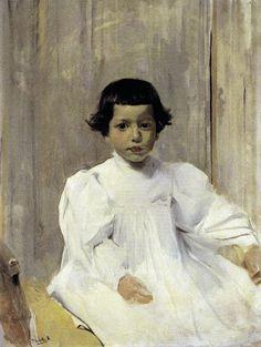 portrait of Joaquin, by Joaquín Sorolla y Bastida