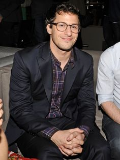 Andy Samberg. He's like the dorky cousin that's your best friend.