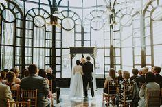 Watters Jacinda wedding dress. Downtown Calgary Wedding