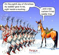 Eighth Day of Christmas Fergus