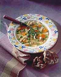 Chicken and Homemade Noodle Soup