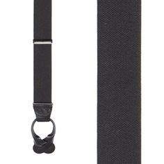 Button Suspenders - 1.25 Inch Wide