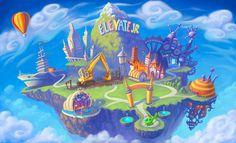 Elevate Jr Year 3 map by jermilex on DeviantArt