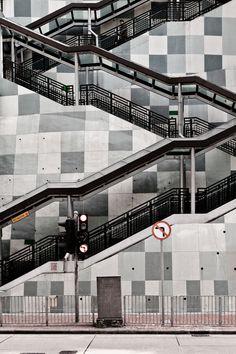 Stairs, Fortress Hill, Hong Kong. by Naoki Yamaguchi, via 500px