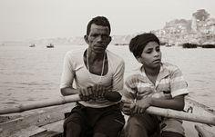 FACEscapes: Ganges River, Varanasi, India