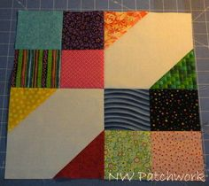 Tutorial for the Arkansas Crossroads block (great block to use scraps!) from Jackie for the Stash Bee: Hive #2 December Block