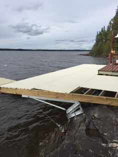 Lake Dock, Retaining Walls, Boathouse, Decking, Outdoor Furniture, Outdoor Decor, Sun Lounger, Boats, Outdoor Living