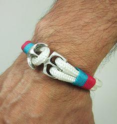 Men's Bracelet Unisex Bracelet Nautical Sailing by ZEcollection