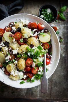 Healthy Diet Recipes, Veggie Recipes, Summer Recipes, Feta, Meal Prep, Food And Drink, Veggies, Vegetarian, Yummy Food