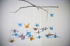 love. lulu.: diy: origami bird mobile