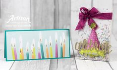 Stampin with Liz Design: Picture Perfect Birthday Cards and Giftbox Stampin Up
