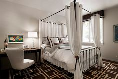 30 camas com dossel: brega ou original