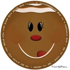 Crafty This and That: Gingerbread Graphic for can crafts & mason jar lids