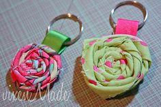 rosette keyrings