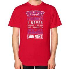 I NEVER EPILEPSY Unisex T-Shirt (on man)