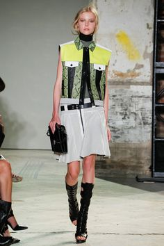 My next purchase: Proenza Schouler gladiator boots. So chic.