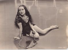 """Dorothy Lamour in """"Man About Town"""", 1939."""
