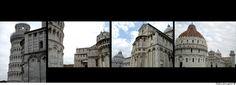 Piazza dei Miracoli, Duomo di Pisa, Battistero di San Giovanni, Torre pendente di Pisa - © fabiosigns