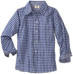 GAH!!  [Wes and Willy Boys 2-7 Gingham Dress Shirt $42.00 - $45.60]
