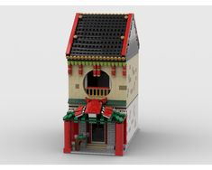 Modular Chinese Restaurant great model for your chinatown :)Love my models?Join...