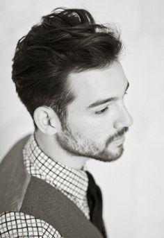 Trending men's cut and style: loose pompadour