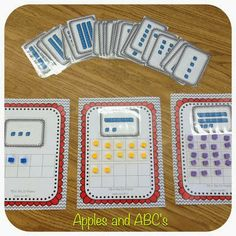 Base 10 Math Unit (from Apples and ABC's)
