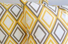 Grey & Yellow Pillows