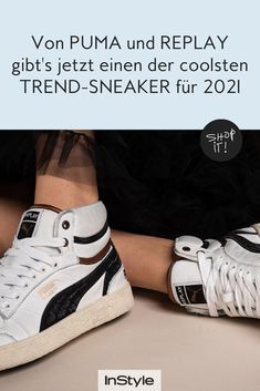 Wir haben einen der coolsten Trend Sneaker für 2021 entdeckt. Er stammt von Puma und Replay und verströmt coole Retro Vibes. Hier shoppen. #instyle #instylegermany #sneaker #sneakertrend #schuhtrend #puma #replay