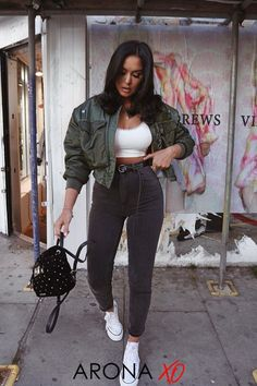 Going Out Outfits For Women, Casual Going Out Outfits, Sporty Outfits, Mode Outfits, Trendy Outfits, Fashion Outfits, Clothes For Women, Womens Fashion, Athleisure Outfits
