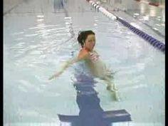 Water Aerobics Exercises : Water Aerobics Line Jumping