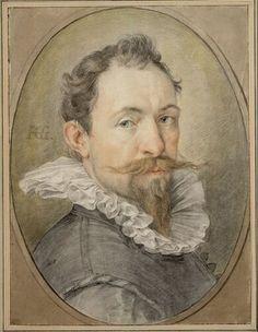Hendrick Goltzius, Selbstbildnis, 1593/94 © Albertina, Wien
