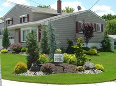 1000 images about corner lot on pinterest ornamental for Corner lot landscaping pictures