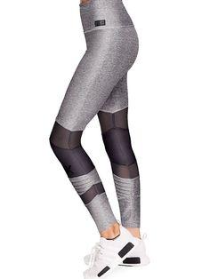 Ultimate High Waist Mesh Legging - PINK - Victoria's Secret