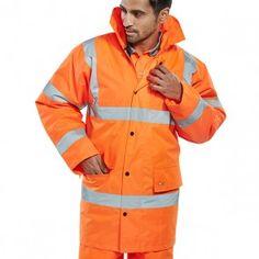 Beeswift Hi-Vis Constructor Traffic Jacket Orange