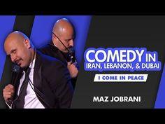 """""""Comedy in Iran, Lebanon and Dubai"""" Maz Jobrani, World Watch, Second World, Michelle Obama, Lebanon, Iran, Donald Trump, Dubai, Comedy"""